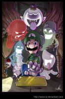 Hold on, Luigi by Isara-La
