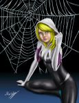 Spider-Gwen by MarioUComics
