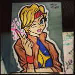 Dazzler Card by the-kid36