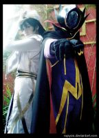 Lelouch in Zero Requiem by Rupyon