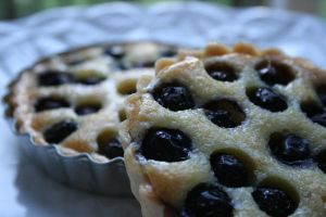 Blueberry Orange  Almond Tart2 by miss-serendipity