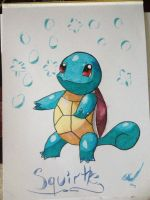 Squirtle by StarClipse