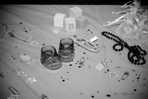 Black and white table by QueenSheba24
