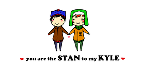Stan to my Kyle by Cheese3D