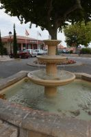 Fountain and office of tourism of MONTAUROUX by A1Z2E3R