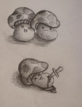 Maple Story Mushrooms by Child-of-God