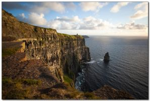 Cliffs of Moher by Badoune
