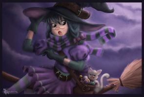 Happy Halloween by Anne-O