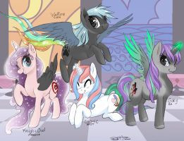 My old Gang by CosmicAcorn