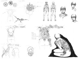 Zoey Concept Sketches by AreYoU