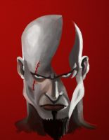 Kratos by Garrenh