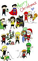 A  Very Young Justice Christmas by King-of-Losers