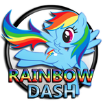 My Little Pony - Rainbow Dash C1 by dj-fahr