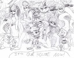 It's Our House Now! by LiloandStitchFan
