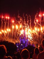 Cinderellas Castle at Night:15 by CanisCamera