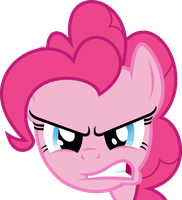 Pinkie Pie Angry by JaaRyX13