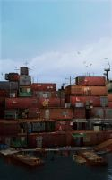 Container City by LoneFox117