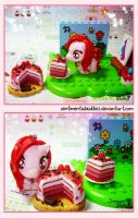 My Little Pony Chocolate Strawberry Charms by SentimentalDolliez