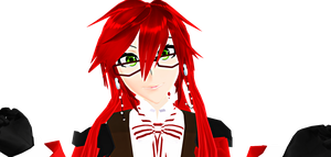 THE CUTEST GRELL SUTCLIFF FACE I CAN MUSTER?! by Jun-Himekawa
