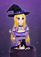 Cassidy :Halloween witch: by Gimesama