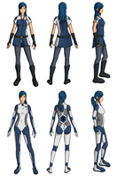 SSU - Uny Outfit Sketches by TGElements