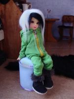 Hoodie and Pants for BJD (+ FREE PATTERN LINK) by AnastasiasArts