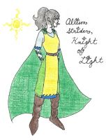 Allison Strider, Knight of Light by LynnLawliet