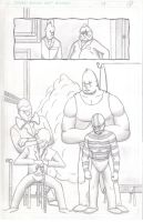 ClownTown Page 7 Pencils by ShotgunZen