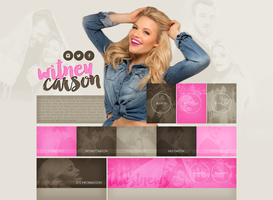 free layout ft. Witney Carson by mmmystery