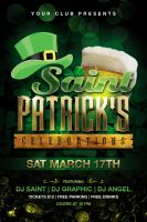 St. Patrick's Celebration Flyer by Dilanr