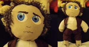 Frodo Baggins Plush by ThisUsernameFails