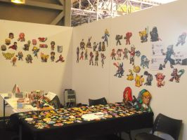 My own stand at the Bordeaux Geek Festival by Cimenord