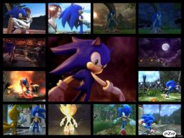 Sonic the Hedgehog 2006 Collage by SonicXBoom123