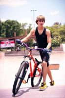 A boy and his bike by alasse91