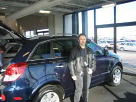 Saturn VUE and me by WingDiamond