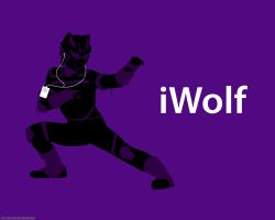 iWolf Wallpaper by morgan-lamia