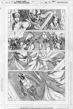 RAVAGER p.5 page 7 pencils by Cinar