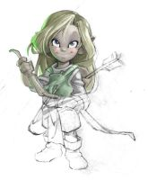 Elvish Girl by Manin
