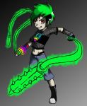 Extreme Rave Girl by pandapenguin