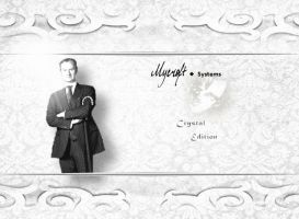 Mycroft Systems Crystal Edition Wallpaper by akatsukinoshimo