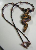 Snake Necklace by eerok1955