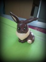 Eevee Sculpture by Bast-The-Cat-Goddess