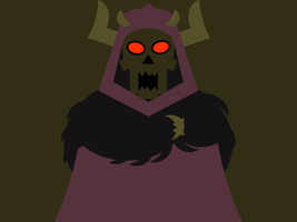 The Horned King -minimal- by Arnumdrusk