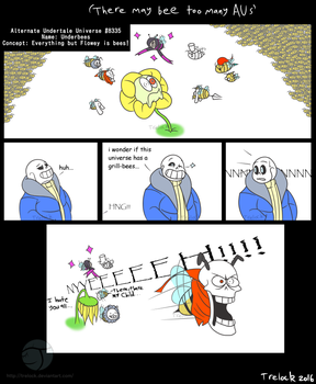 There may bee too many AUs comic by Trelock