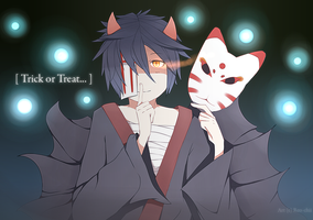 Halloween Exchange|| Oni-kun by Reo-chii