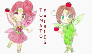 Tomato Fairies by sweetsnow73