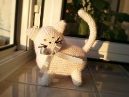 Cat amigurumi by katialumik