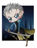 DMC - Vergil Chibi by MadameNyx