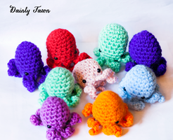 Mini Squids by candypow