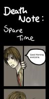 Death Note: Spare Time by Red-Sky-At-Night